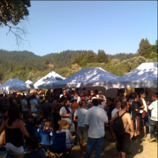 Russian river beer revival and BBQ cook off