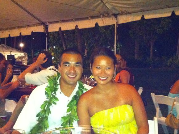 Aloha! kev gets married!